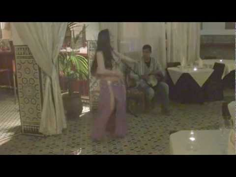 Salima and Yassir Jamal:  Imporvised drum solo – Morocco 2011