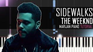 How To Play: The Weeknd ft. Kendrick Lamar - Sidewalks   Piano Tutorial