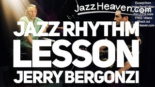*Jazz Improvisation Lesson* Jerry Bergonzi Great Exercise Improve Your Playing Jazz Rhythm Lesson
