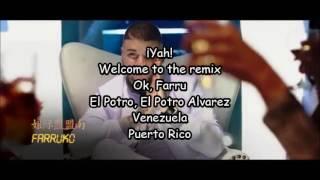 Sixto Rein ft Farruko & El Potro Alvarez | Ojitos | Letra