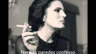 Amália Rodrigues - Nem às paredes confesso (letra)