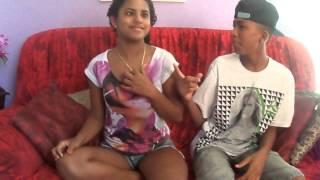 PRIMEIRO VÍDEO DOS IRMÃOS NASCIMENTO ( Karol Nascimento & Gabriel Nascimento )