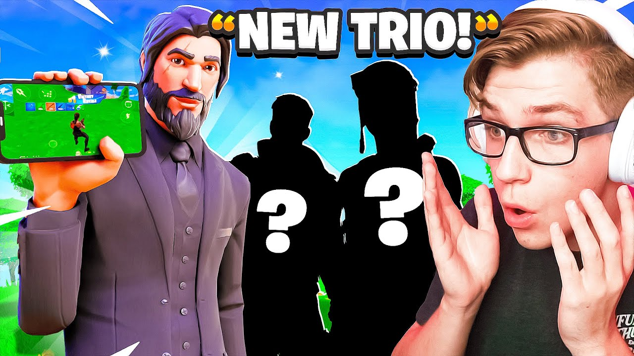 DuckyTheGamer - I Hosted TRYOUTS For My New Mobile Trio!