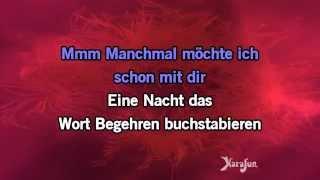 Karaoke Manchmal Möchte Ich Schon Mit Dir - Roland Kaiser *