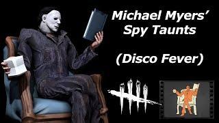Michael Myers' Spy Taunts (Dead by Daylight/TF2 SFM Test 6)