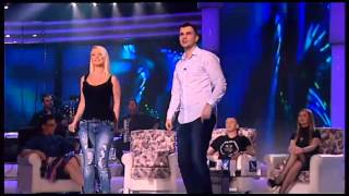 Aleksandra Bursac i Milos Brkic - Sto te nema ljubavi - HH - (TV Grand 07.04.2016.)