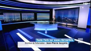 Ouverture/clôture du JT de la RTBF - habillage HD 2011