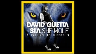 David Guetta Ft. Sia She Wolf (Falling To Pieces) (Letra en  Español) [HD]