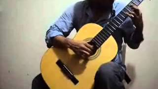 Niccolo Paganini MS 84 Guitar Sonata #1 A Major by Humberto Hernandez R.