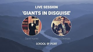 School of Port's live session: 'Giants in disguise' with David Nunes & Gustavo Devesas