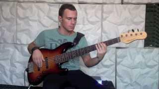 Beyoncé (feat Jay-Z) - Deja Vu - Mauro Catellani - bassline (bass cover)