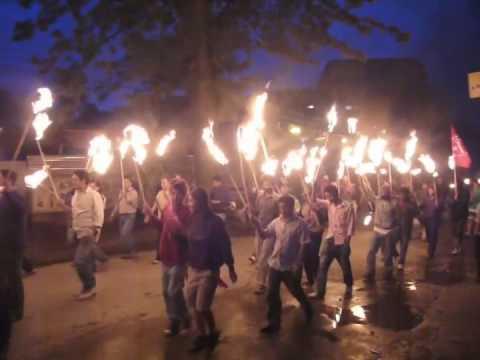 Nepal Maoist Protest '09