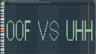 OOF VS UHH - MIDI Art