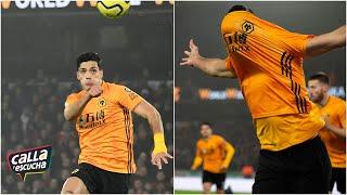 GOLAZO Raúl Jiménez le marcó al Liverpool un extraordinario gol de cabeza   Calla y Escucha
