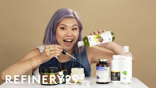 I Tried A DIY Haircare Routine For Pastel Hair | Beauty With Mi | Refinery29