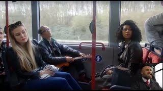 WAIT FOR IT...                           BUSDRIVER GOES CRAZY!