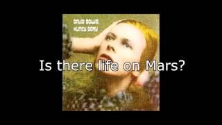 Life on Mars? | David Bowie + Lyrics