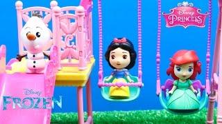 Princesas Disney Ariel y Blancanieves van al parque | Sobres Sorpresa Frozen y Princesas Disney