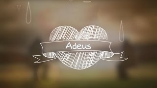Bruno e Léo - Adeus (Lyrics Vídeo)