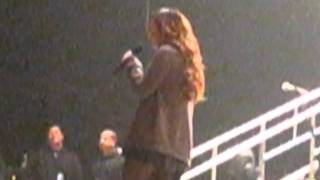 Demi Lovato singing Believe In Me since before Rehab Soundcheck 2011