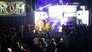 ROH 15th Anniversary TV Tapings 21 Kenny King vs Marty Scurll entrance