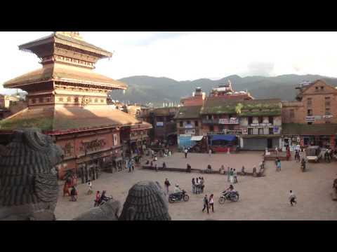 Taumadhi Square in Bhaktapur Nepal
