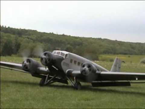 Worlds Largest Ju 52 RC model plane