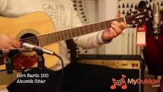 Cort Earth 100 Akustik Gitar İncelemesi (Hızlı Video)