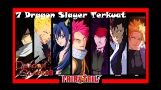 7 Dragon Slayer Terkuat Dalam Anime Fairy Tail