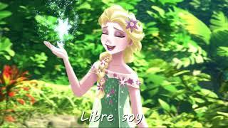 "Elsa canta ""Libre Soy"" en la isla de Moana Mutunui"