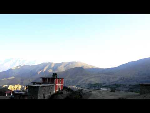 360 View from Muktinath Nepal.AVI