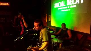 Social Decay - Revenga (Live @ Calabouço Heavy & Rock Bar 11/03/2017)