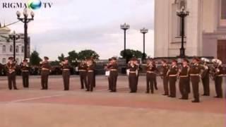 Военный оркестр отжигает!!!