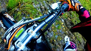 Saaraazh Tries Something New || Enduro || KTM 450 EXC