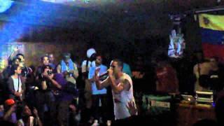 Canserbero - Siempre (INTRO) @ Auditorio Naranja UCV 20-02-11