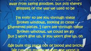 Broken Windows - David Cook Lyrics