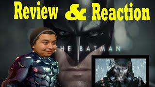 Batman: Arkham Knight - Be the Batman REVIEW/TRAILER REACTION