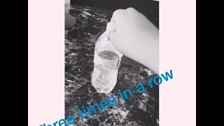 Bottle flipping video three in a row remix