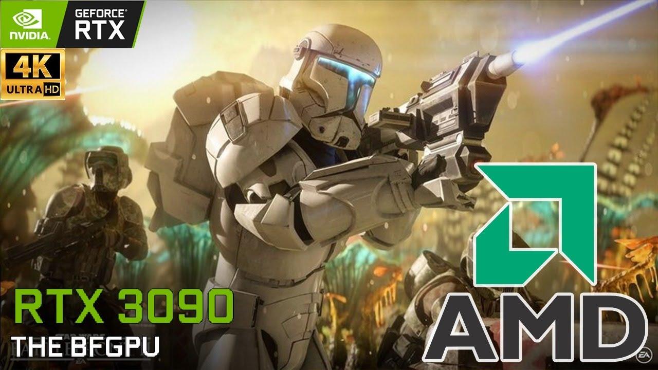 XenthorX - Battlefront 2 : 4K Free on Epic Games Store Next Week   Star Wars   5900X   RTX 3090   Ultra   4K