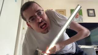 MY NEW LIGHTSABER 😠 - Ricky Berwick