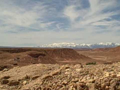 Ait Benhadu Desert Panorama