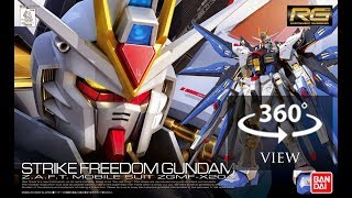 [360°Degree] RG 1/144 Strike Freedom Gundam