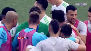 ملخص مباراة الجزائر وتوجو 4 1   ثنائية رياض محرز  حفيظ دراجي🔥 HD   YouTube