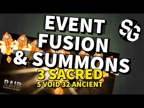 [RAID SHADOW LEGENDS] EVENTS FOR FOLI LEGO FUSION + SUMMONS