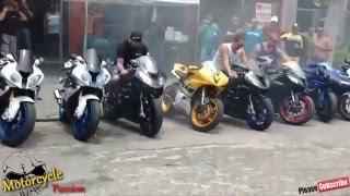 BMW s1000rr & BMW HP4, Exhaust Shooting Flames & BMW SportBike Sound, Crazy Speed BMW Bike