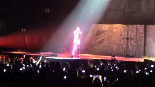 Chris Brown - All Back [Live Concert In Berlin O2 World 22.11.2012] HD