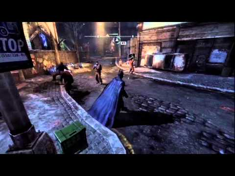 Batman: Arkham City - Riddler Guide - Physical Challenges-Line 2