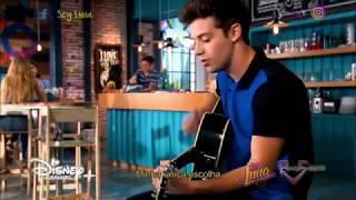 "Soy Luna 2   Matteo (Ruggero Pasquarelli) ""Allá Voy""   Clip Musical - Acústico [HD]"