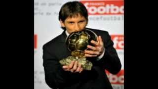 Lionel Messi ballon d'or 2012