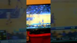 Steph Curry halfcourt buzzer beater vs Indiana pacers